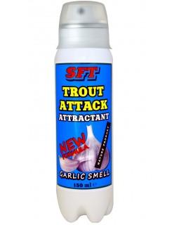 Ароматизатор SFT Trout Attack с запахом чеснока (150 мл)