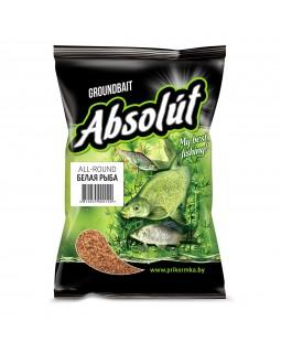 Прикормка Absolut Белая Рыба ALL-ROUND (коричневая) 0.75 кг
