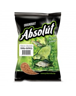 Прикормка Absolut Линь-Карась TENCH-CRUCIAN (коричневая) 0.75 кг