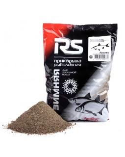 Прикормка зимняя RS Плотва Темная Холодная вода (тёмная) 0.75 кг