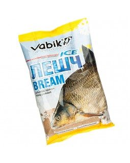 "Прикормка зимняя Vabik Ice Bream ""Лешч"" (жёлто-коричневая) 0.75 кг"