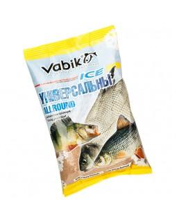 """Прикормка зимняя Vabik Ice Allround """"Универсальны"""" (жёлто-коричневая) 0.75 кг"""