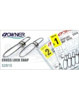 Карабин OWNER CROSS LOCK SNAP 52810 № 1