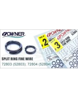 Кольца заводные OWNER RING FINE WIRE 52804 № 0