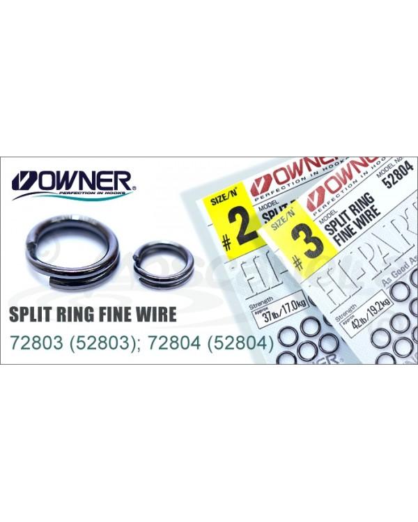 Кольца заводные OWNER RING FINE WIRE 52804 № 3