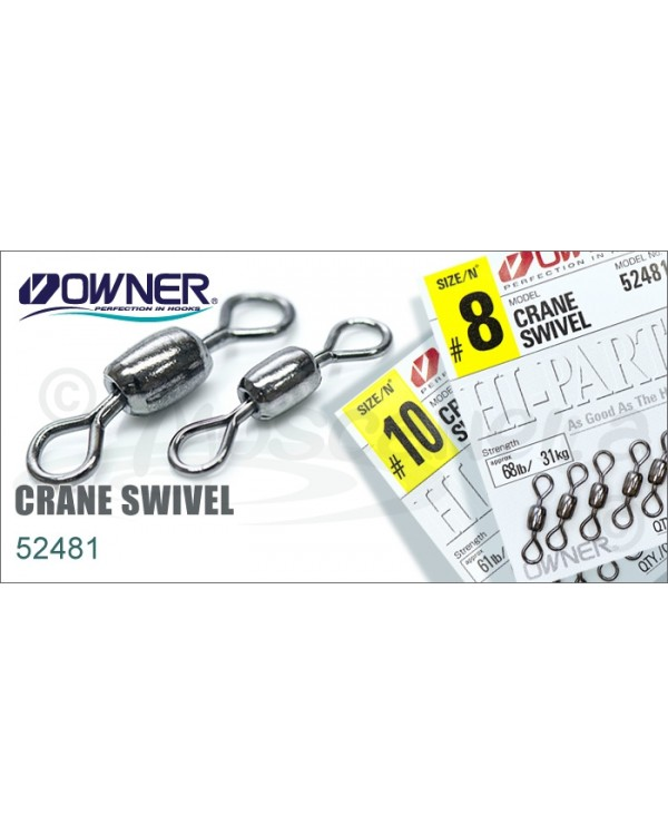 Вертлюг OWNER CRANE SWIVEL 52481 № 16