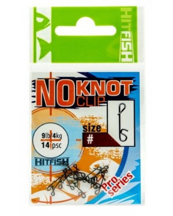 Безузловая застежка HITFISH NoKnot Clip № 1