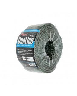 """Шнур крученый высокопрочный """"Danline"""" 100м (3.0 мм/160кг)"""