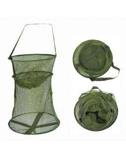 Садок рыболовный темно-зеленый (35, 40, 45 см.)