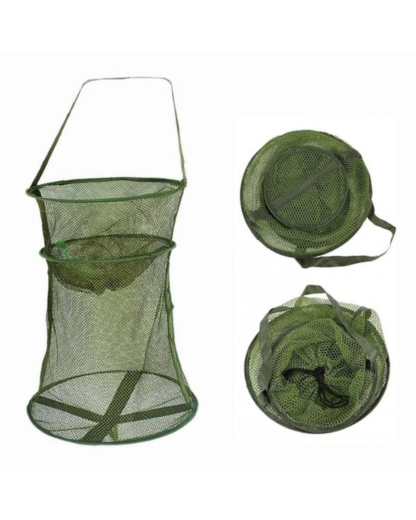 Садок рыболовный темно-зеленый 35х100 см