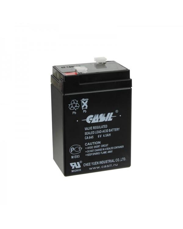 Аккумулятор Casil 6V 4.5Ah