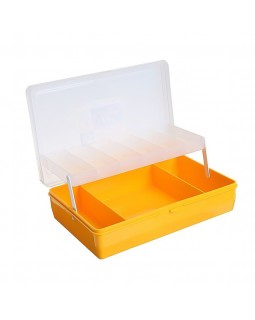 "Коробка ""Тривол"" ТИП-4 (Жёлтая), двухъярусная с микролифтом."