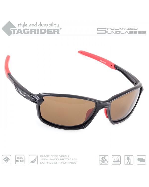 Очки поляризационные Tagrider N20-1 Brown