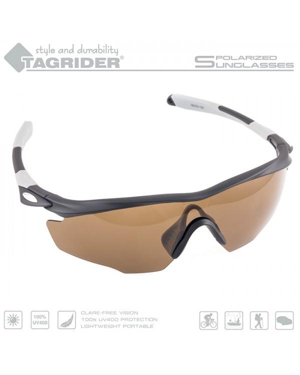Очки поляризационные Tagrider N10-1 Brown