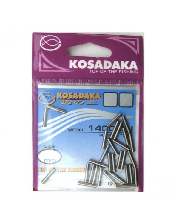 Обжимные трубочки Kosadaka 20 шт.