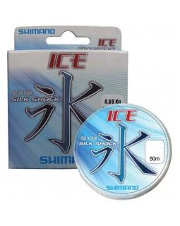 """Леска монофильная """"Shimano"""" Ice Silk Shock 50 м."""