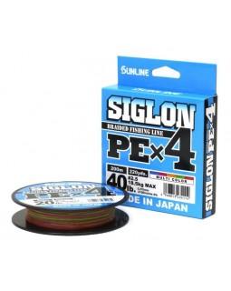Леска плетёная Sunline Siglon PE X4 200 м.