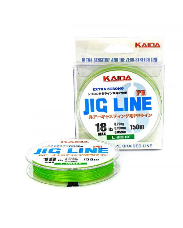 Плетеный шнур KAIDA JIG LINE PE 6Х 150 м
