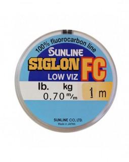 """Леска флюорокарбоновая поводковая """"Sunline"""" SIG-FC 0,7мм 1 м."""