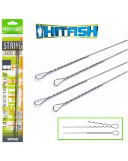 """Поводок струна """"Hitfish"""" String Leader Wire"""