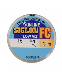 """Леска флюорокарбоновая поводковая """"Sunline"""" SIG-FC 1 м."""