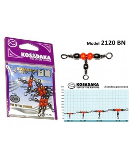 Вертлюг трёхсторонний Kosadaka 2120 BN