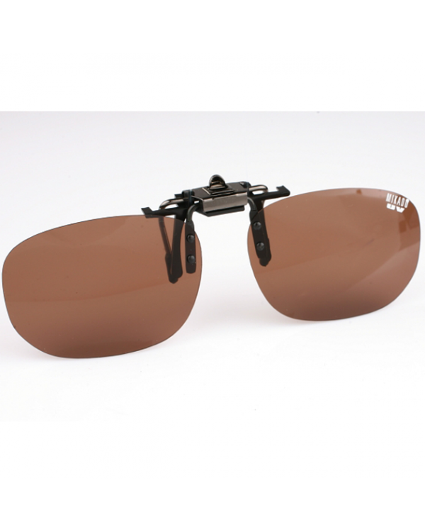"""Поляризационная накладка на очки """"MIKADO"""" (коричневый цвет линз)"""