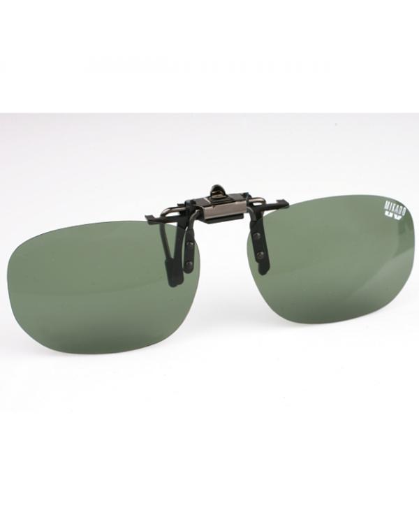 """Поляризационная накладка на очки """"MIKADO"""" (зеленый цвет линз)"""