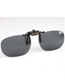 """Поляризационная накладка на очки """"MIKADO"""" (серый цвет линз)"""