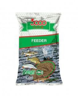"Прикормка ""Sensas"" 3000 Club  (Фидер / 1 кг.)"