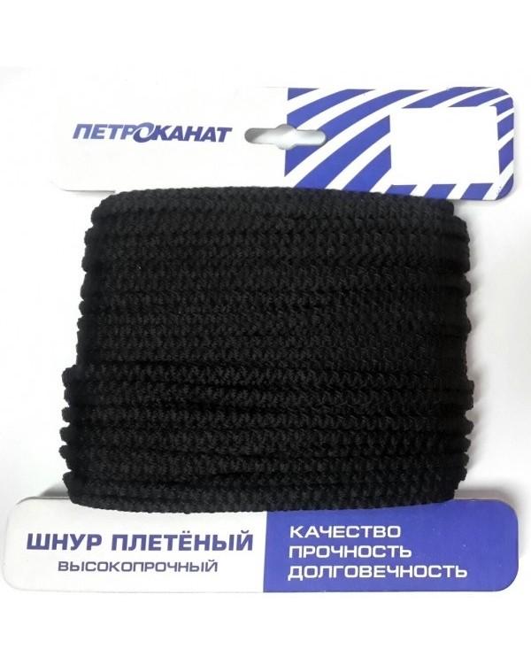 """Шнур плетёный высокопрочный """"Петроканат"""" Стандарт (6.0 мм./ 20 м.)"""