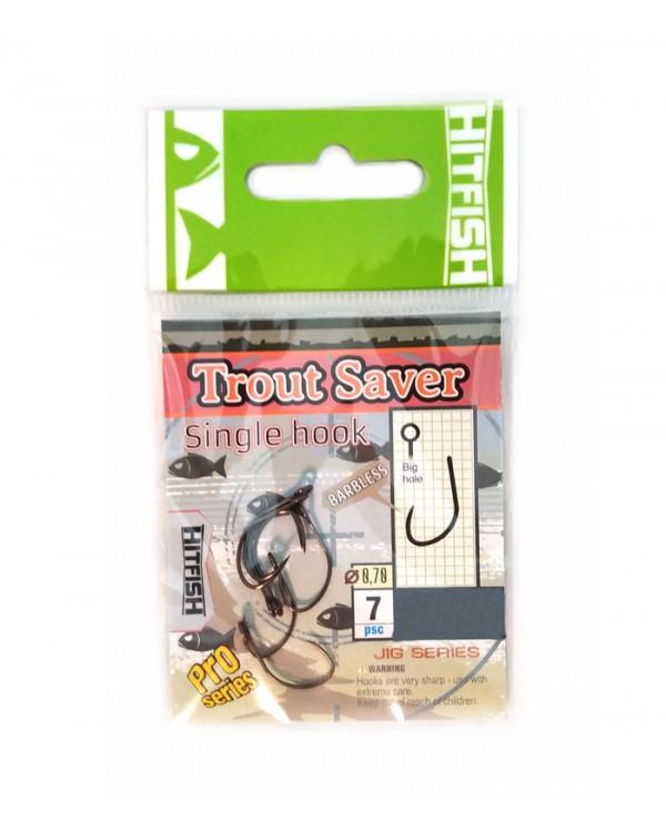 """Одинарный крючок """"Hitfish"""" Trout Saver Single Hook (#8)"""