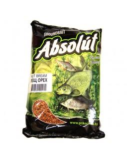 "Прикормка ""Absolut"" Лещ орех (коричневая / 0.75 кг.)"