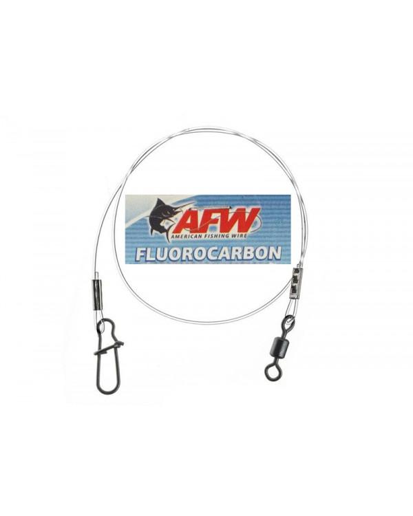 """Флюорокарбоновый поводок """"AFW"""" Hi-Sea оснащён вертлюгом и застёжкой"""