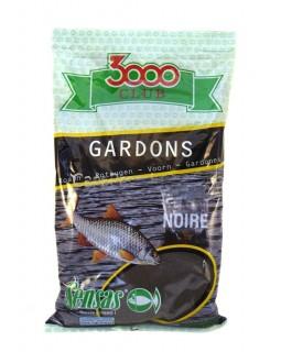 Прикормка Sensas 3000 Club Gardon noire (Плотва чёрная) 1 кг