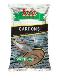 Прикормка Sensas 3000 Club Gardon (Плотва) 1 кг