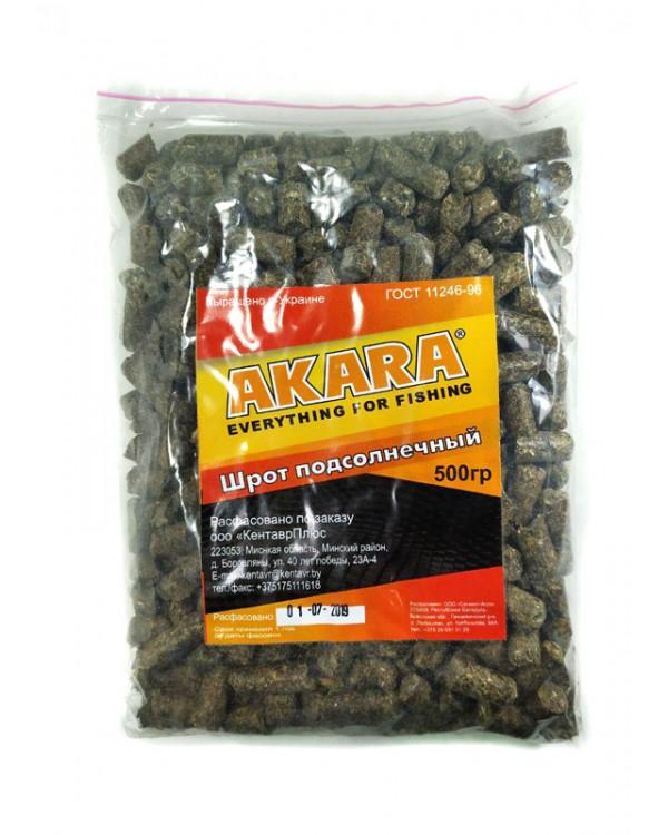 Шрот подсолнечный гранулы (макуха) 0.5 кг.