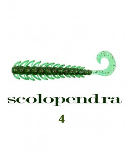 "Твистер Fish Magnet Scolopendra 4"""