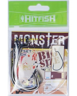 "Офсетный крючок ""HITFISH"" Monster Offset Hook (MOH-8/0)"