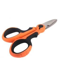 Ножницы для резки поводкового материала и плетенной лески (14 см.)